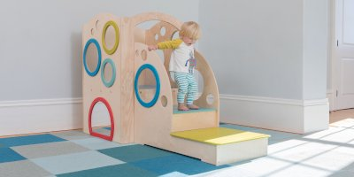 Indoor playset perfectly fits your infant or toddler